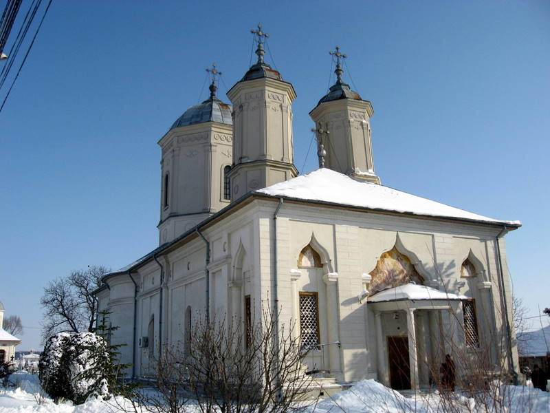 Manastirea Pasarea - Biserica Sfanta Treime